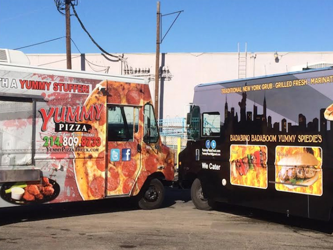 Yummy Pizza Truck Online Food Delivery Spiedies In